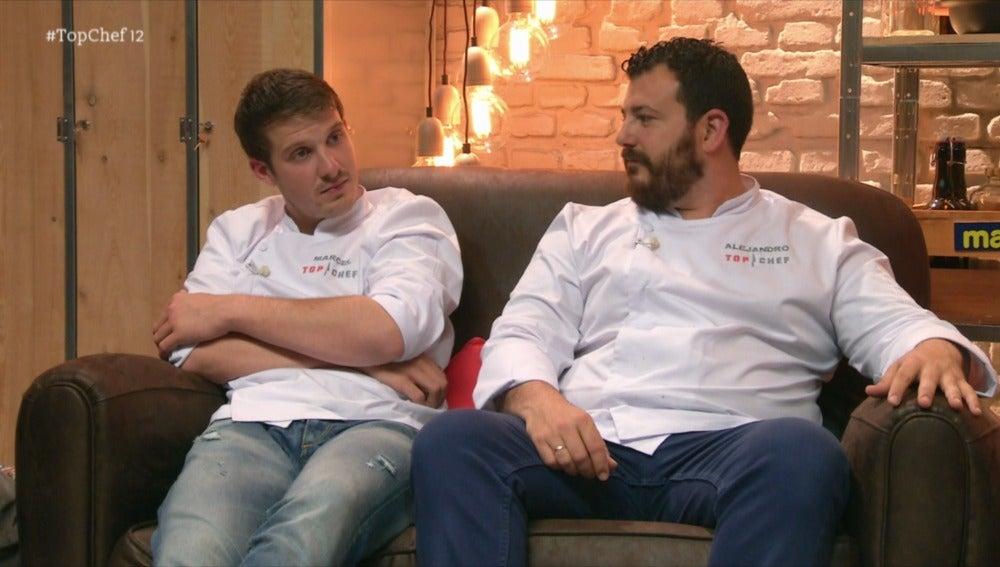 Marcel, Alejandro y Sergio lucharán por entrar la semifinal