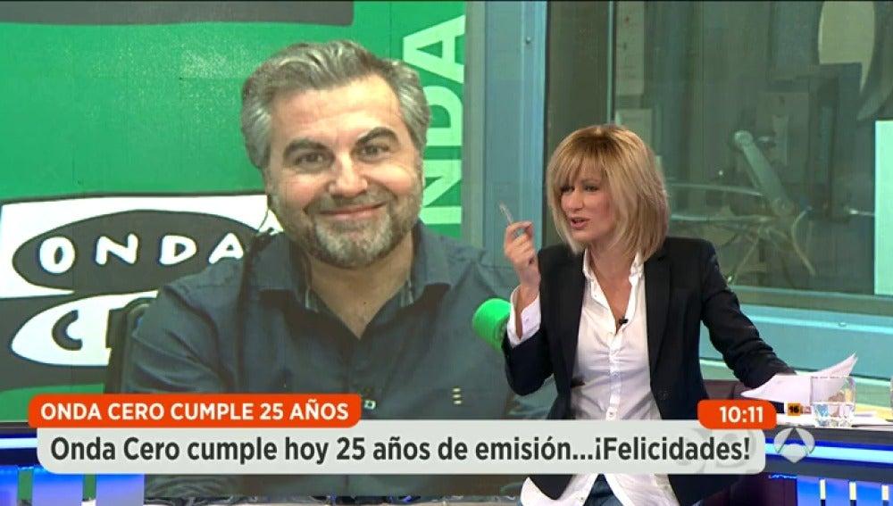 Antena 3 tv carlos alsina lo bueno son los 25 a os que for Antena 3 espejo publico hoy