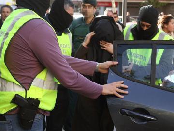 Detenidas tres personas en Barcelona en una operación contra el terrorismo yihadista