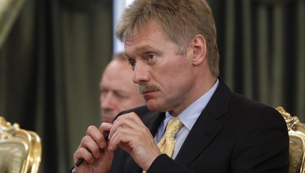 Dmitri Peskov, portavoz del Kremlin ruso