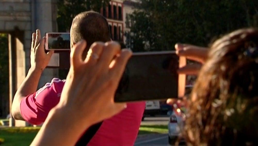 Ver a través del móvil