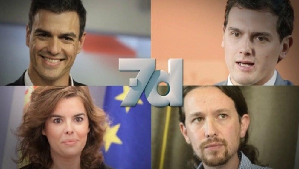 Participantes en el debate del 7-D