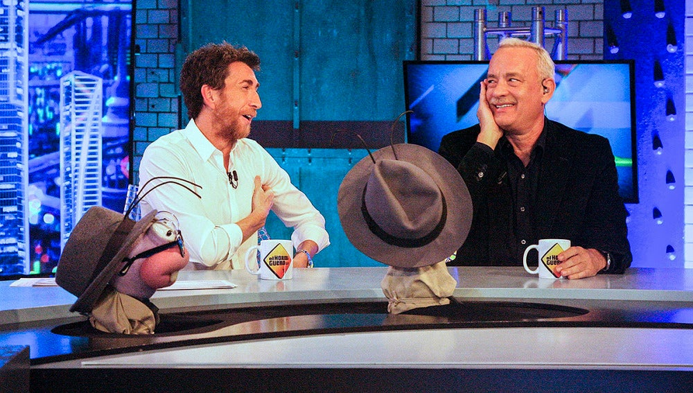 Tom Hanks en 'El Hormiguero 3.0'