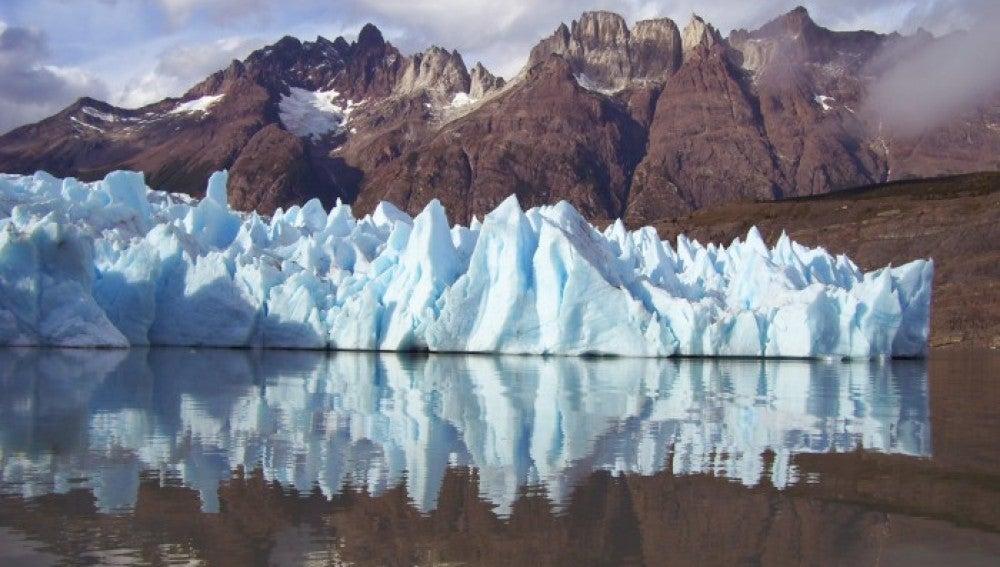 El glaciar Grey