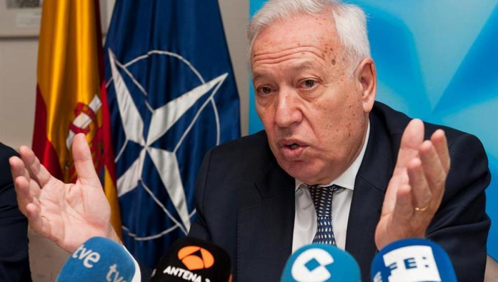 El ministro español de Asuntos Exteriores, José Manuel Garcia-Margallo