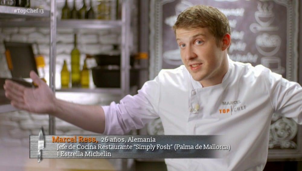Marcel es el segundo semifinalista de Top Chef
