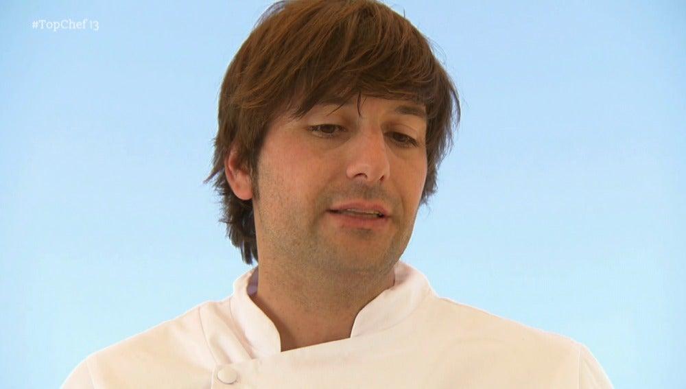 Sergio asegura que su cocina es muy arriesgada