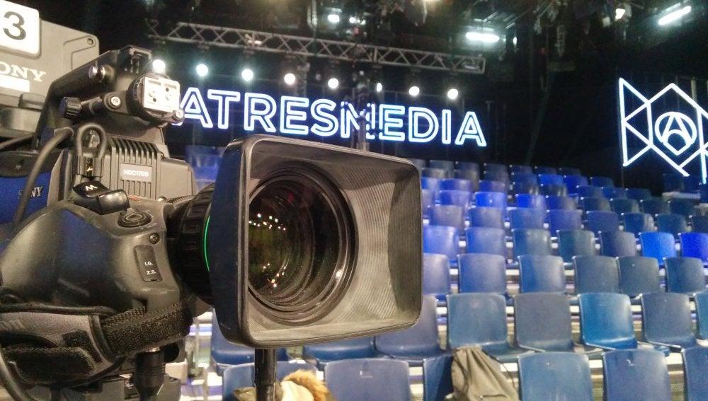 El plató del Debate Decisivo de Atresmedia ya está listo para el 7D