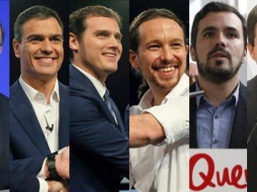 Candidatos a la Moncloa el 20D