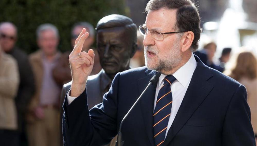 Rajoy, en Ávila