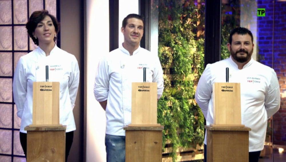 Los concursantes tendrán que terminar el plato del jurado para hacerse un hueco en la final de 'Top Chef'