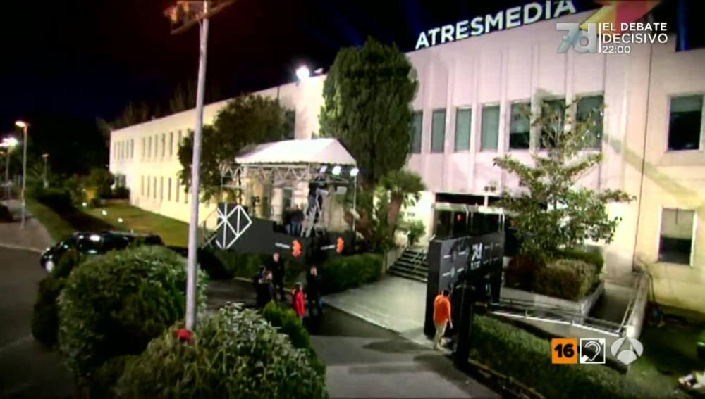 La entrada de Atresmedia, preparada para el '7D: El Debate Decisivo'