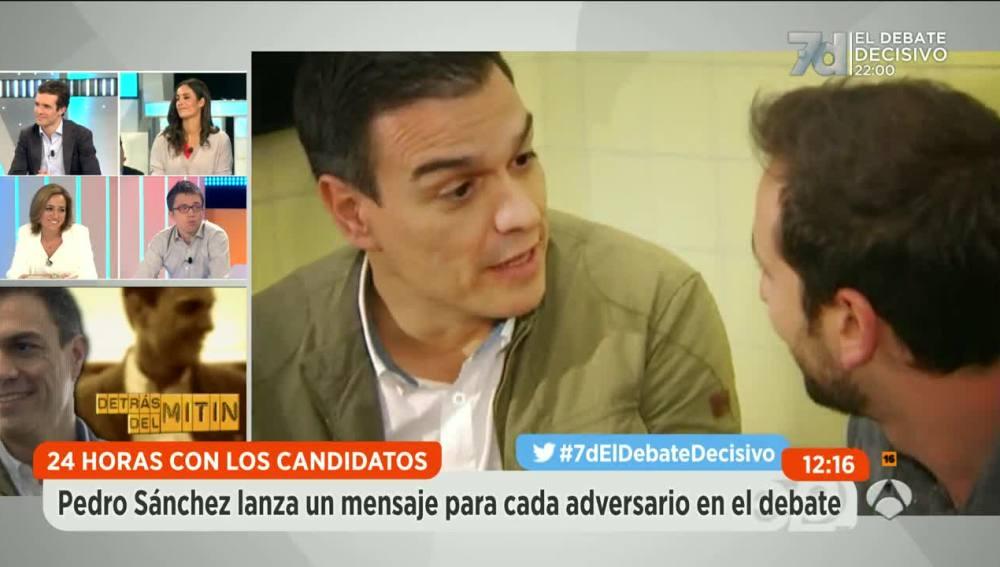 24 horas con Pedro Sánchez