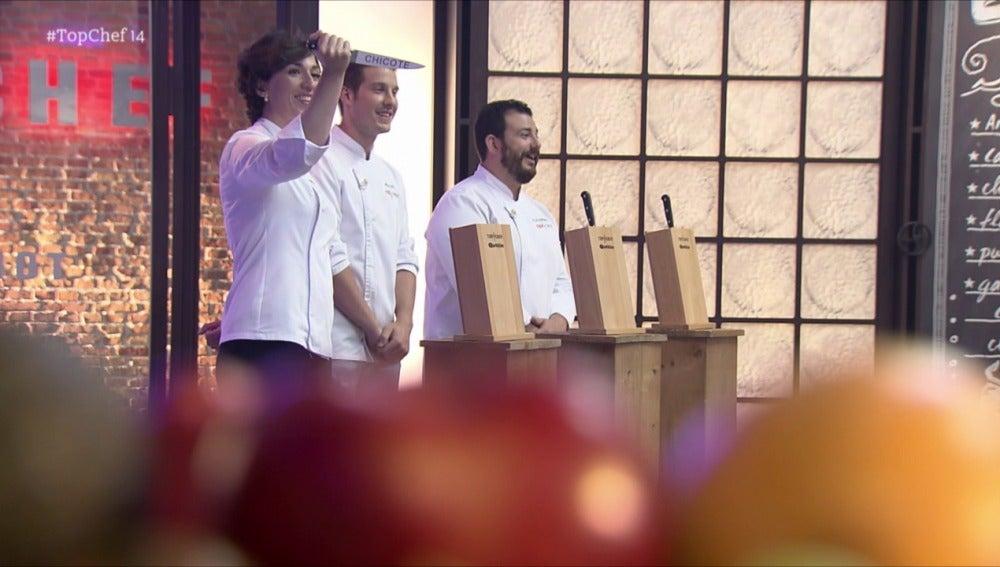 Maripaz tendrá que acabar el plato de Chicote en la primera prueba