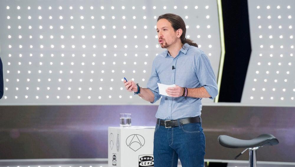 Pablo Iglesias en el 7D