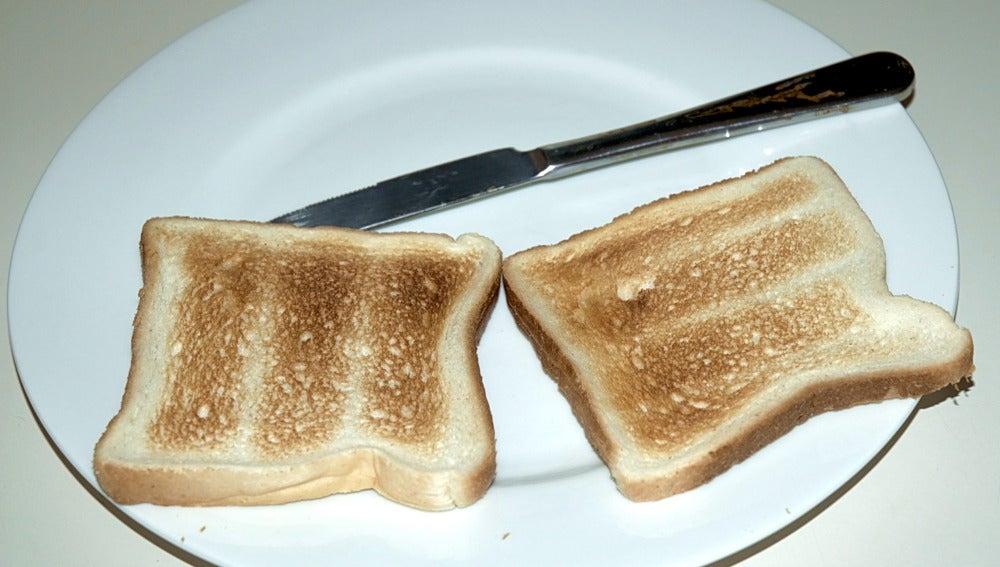 pan tostado o sin tostar dieta