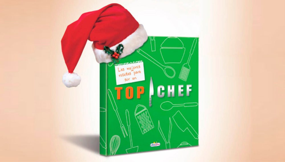 Consigue un libro de la tercera temporada de Top Chef