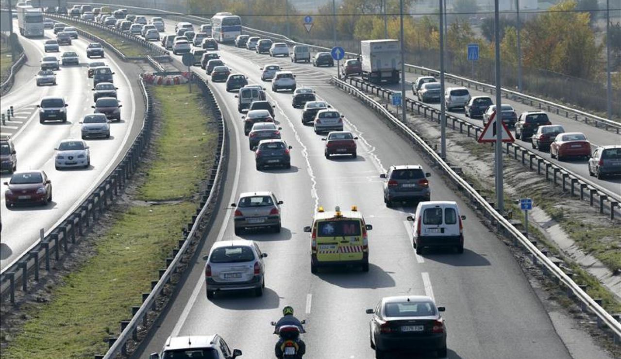 Estado de las carreteras durante el puente de la Constitución