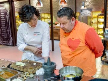 Mari Paz sigue con la elaboración empezada por Chicote