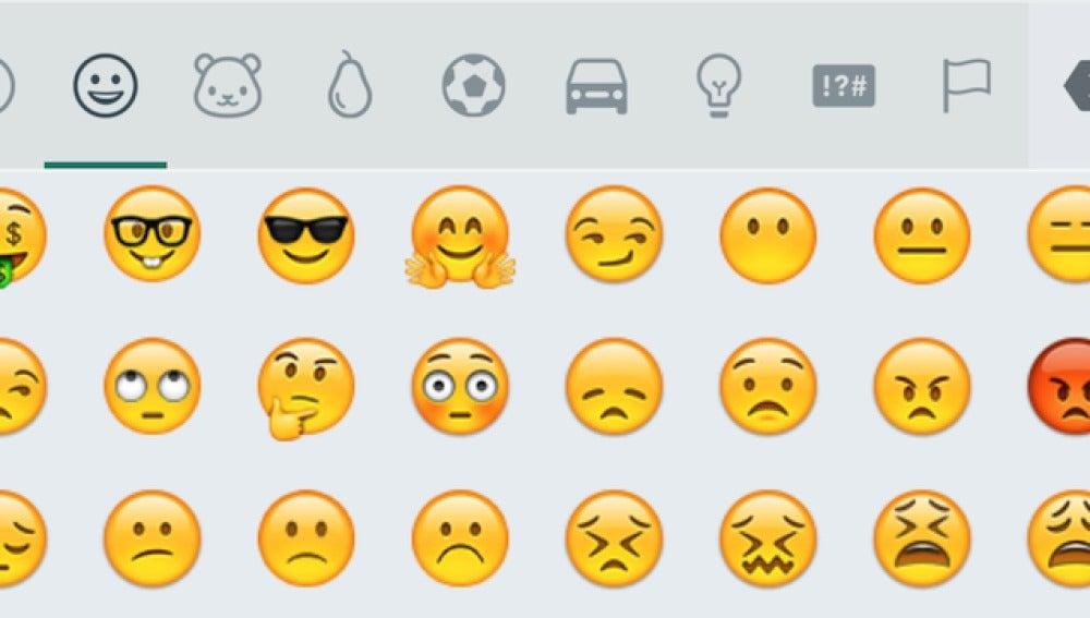 Nuevos emoticonos de Whatsapp