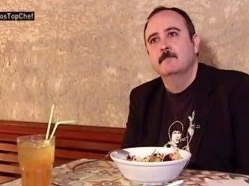"""Carlos Areces: """"Soy la única persona no vegana que no come jamón serrano"""""""