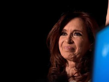 Cristina Fernández, en su acto de despedida