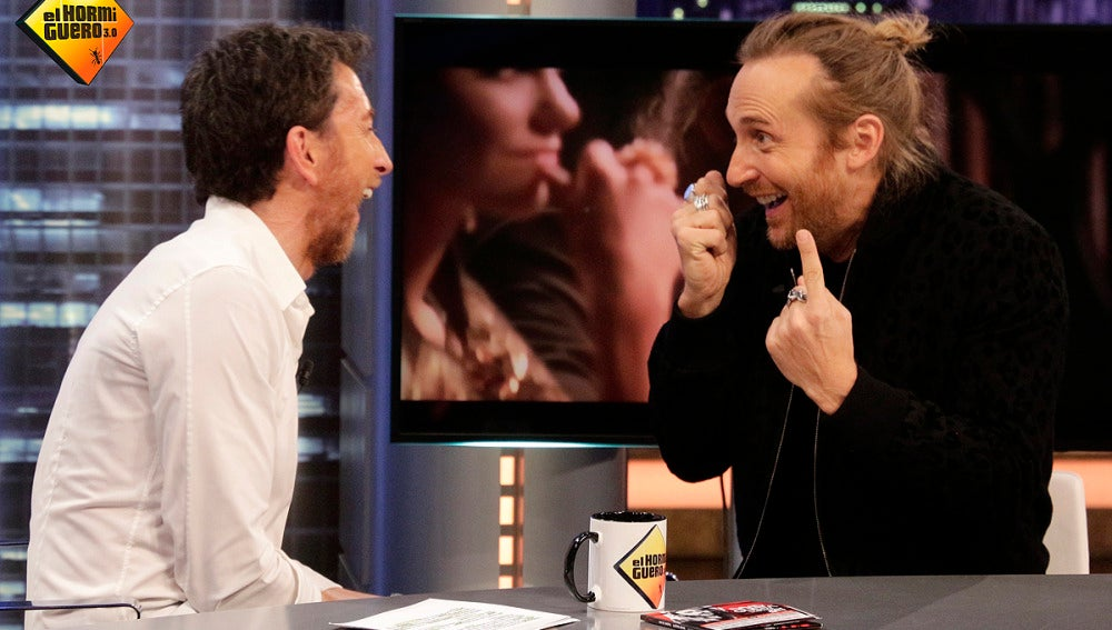 David Guetta en 'El Hormiguero 3.0'