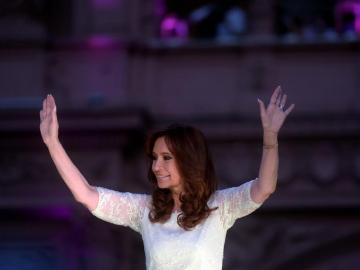 La presidenta argentina Cristina Fernández de Kirchner