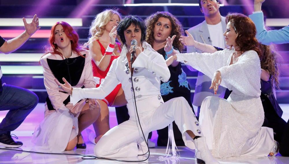 Adrián Rodríguez se alza con la victoria gracias a su imitación de Elvis Presley