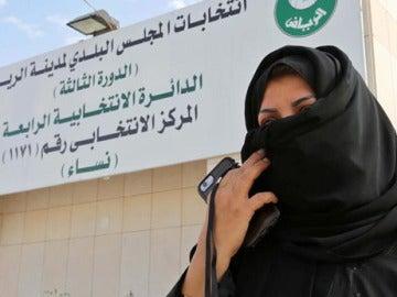 Una mujer en Arabia Saudí
