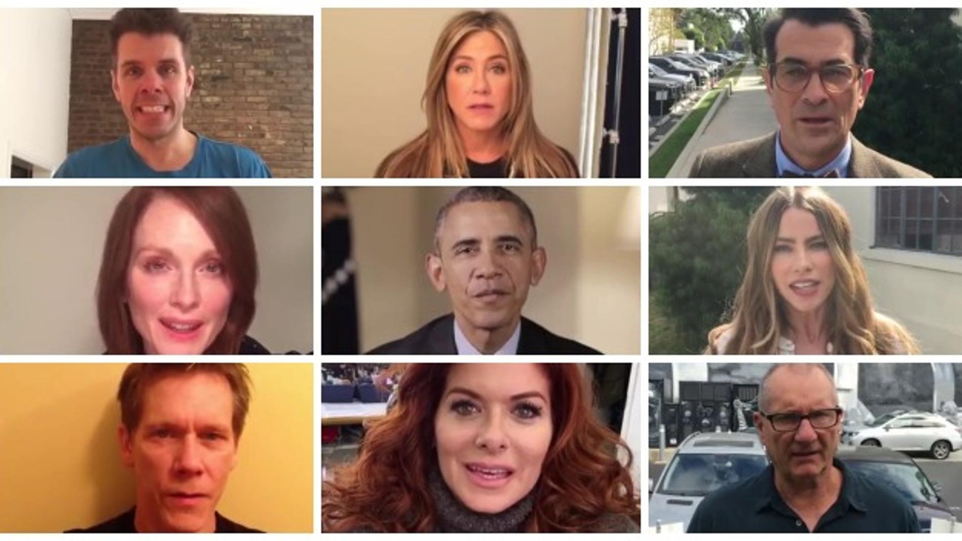 Jennifer Aniston, Sofía Vergara,  Julianne Moore o Barack Obama luchan por la regulación de las armas