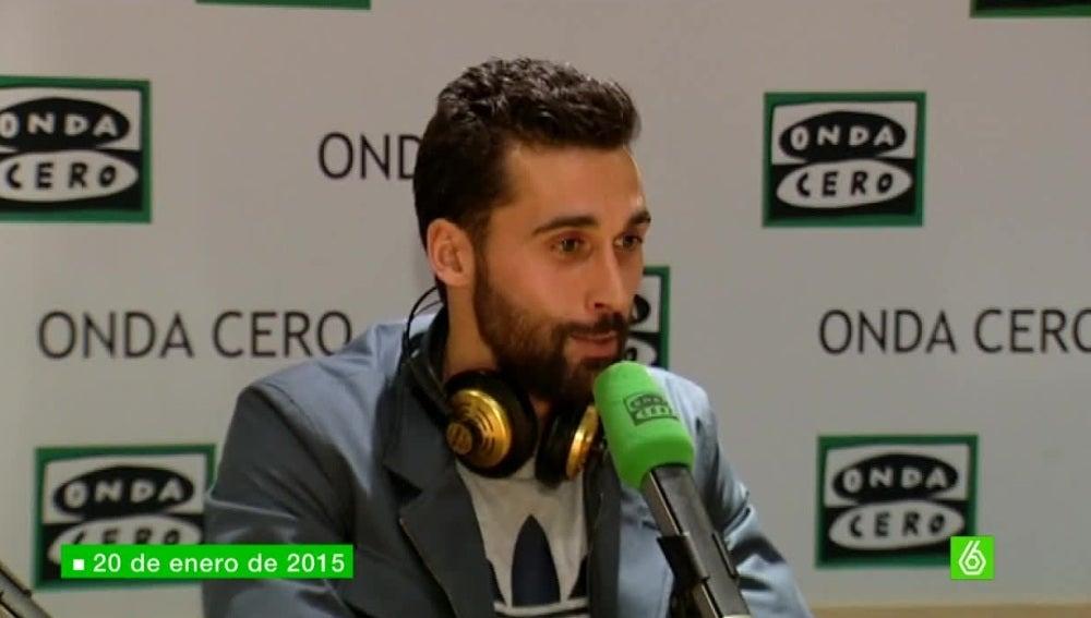 Álvaro Arbeloa, en Onda Cero