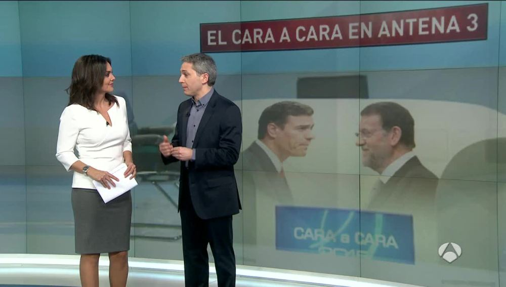 Vicente Vallés y Mónica Carrillo