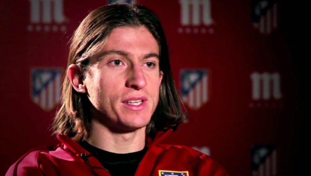 Filipe Luis, jugador del Atlético