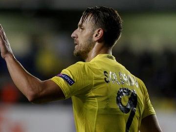 Roberto Soldado jugador del Villarreal.