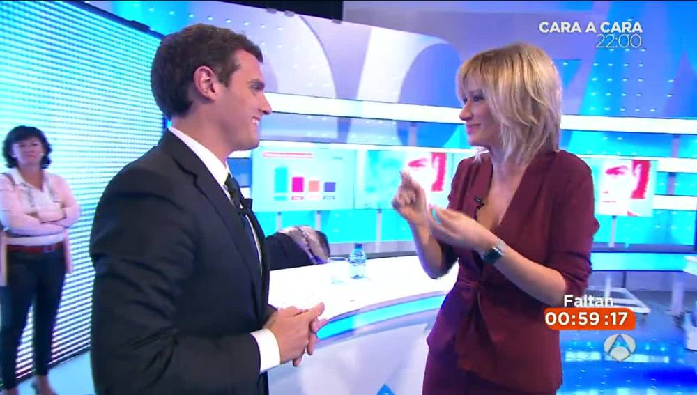 Albert Rivera en Antena 3