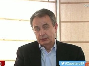 José Luis Rodríguez Zapatero en una entrevista en Espejo Público