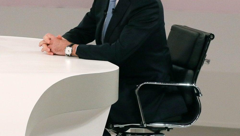 Mariano Rajoy en el cara a cara