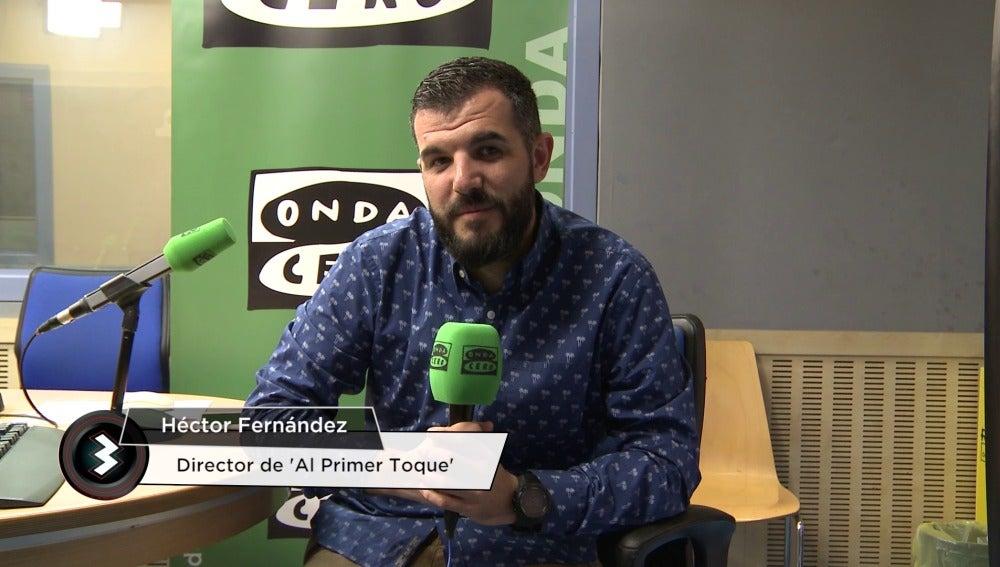 Héctor Fernández, optimista tras el sorteo de octavos de Champions