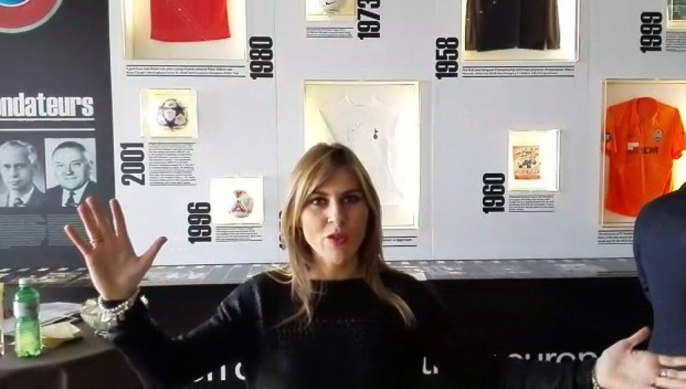 Susana Guasch desde Nyon