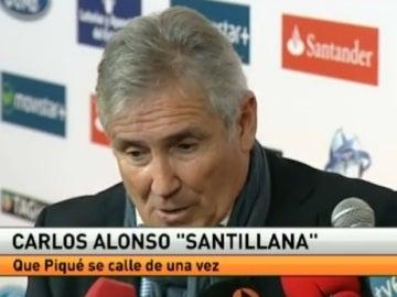"""""""Santillana"""", exjugador del Real Madrid"""