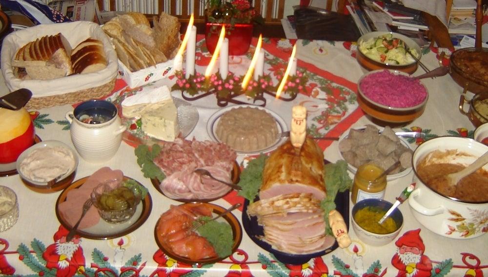 Si te comes todo esto, vas a acabar mal...