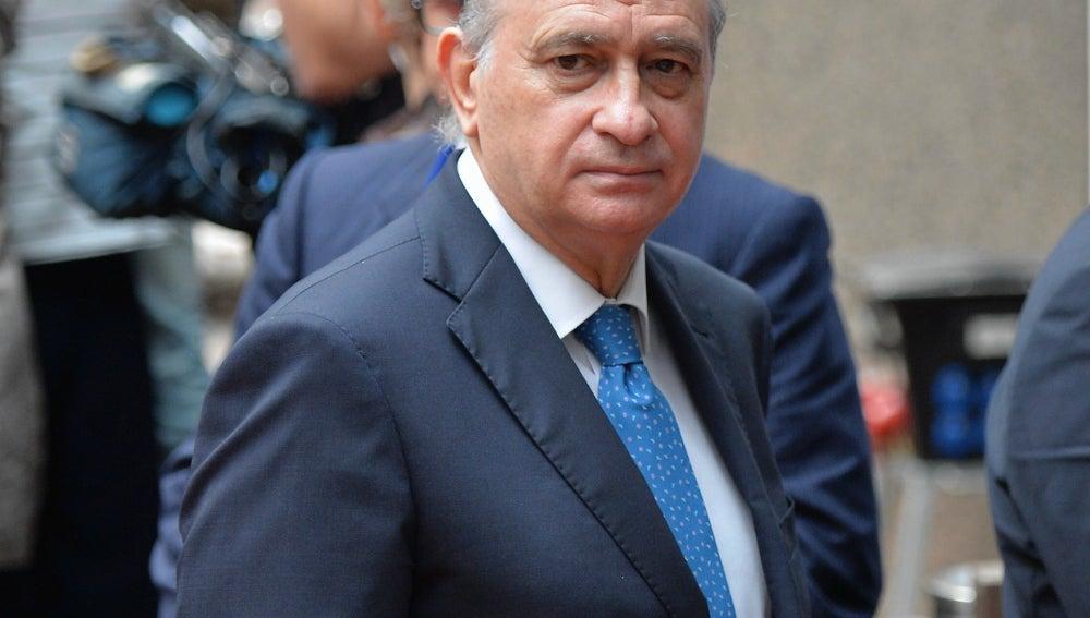 El ministro del Interior, Jorge Fernández Díaz