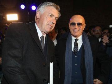 Arrigo Sacchi junto a Carlo Ancelotti