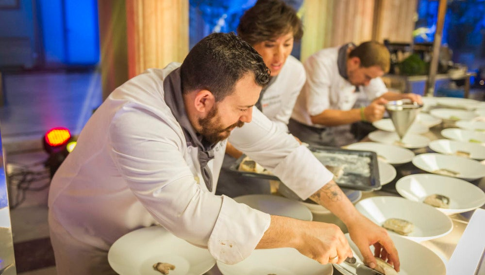 Último minuto de la gran final de 'Top Chef'