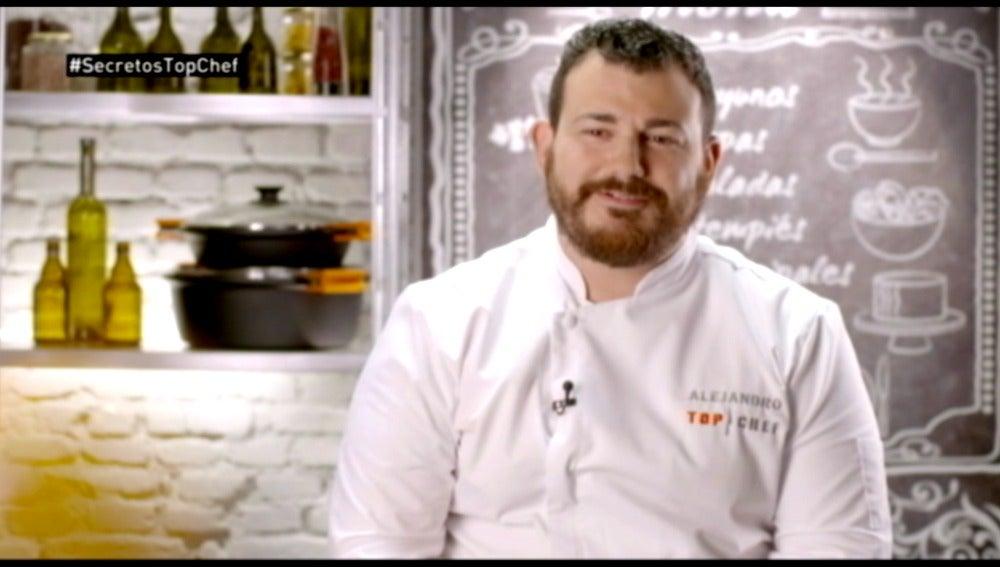 Alejandro hace honor a su apellido en la final de Top Chef