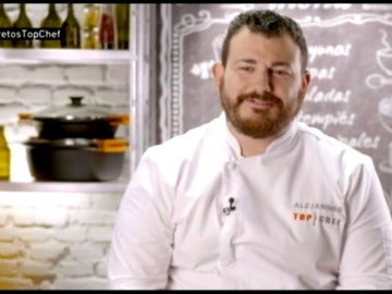 Alejandro hace honor a su apellido en la final de Top Chef