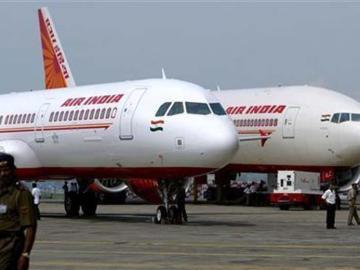 Varios aviones de la compañía air India