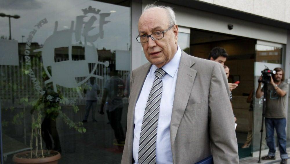Jesús Samper, el hasta ahora dueño y presidente del Real Murcia