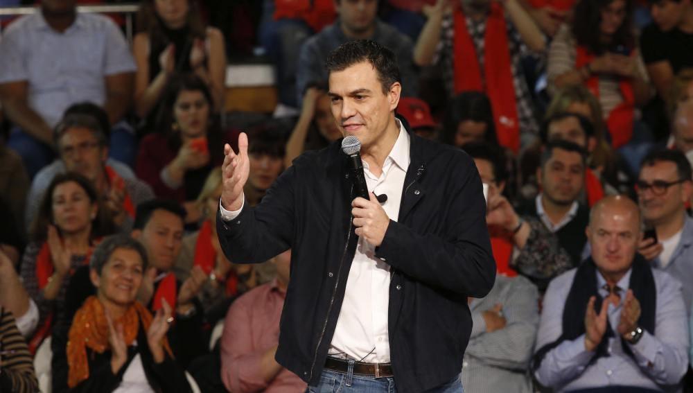 Sánchez cierra campaña en Fuenlabrada